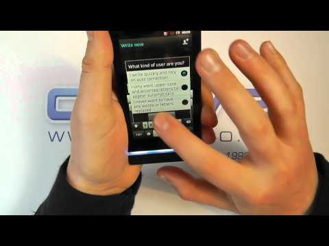 Sony Xperia U (ST25i) Android Smartphone Unboxing