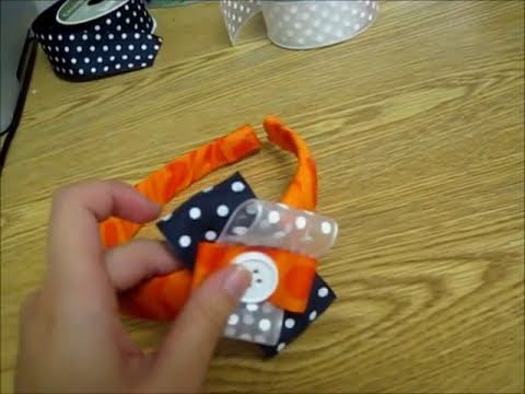 Ribbon Headband DIY