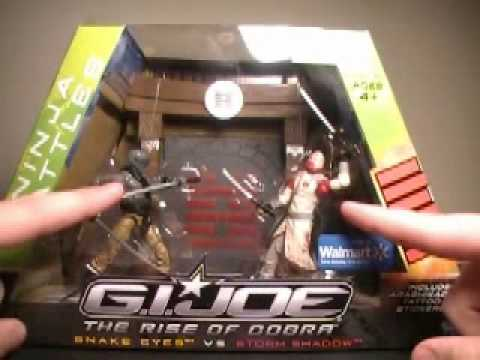 GI Joe the rise of cobra ninja battles review