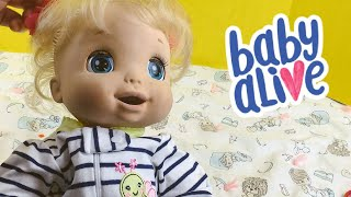Baby Alive Beatrix Changing and Toothbrushing