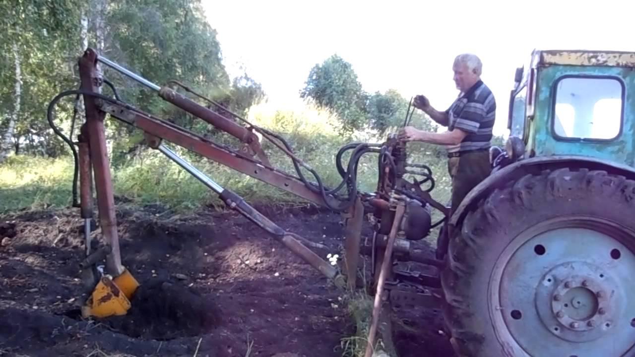 Навесное для трактора своими руками