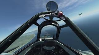 DCS Spitfire - 12 minute sortie on Burning Skies