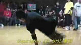 Be.B-Boy 2007 SOUTH JAM vs FNC Final Part1