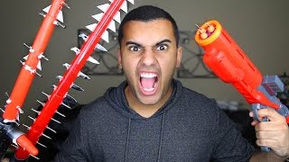 MOST DANGEROUS TOY OF ALL TIME!! (EXTREME NERF GUN / STAR WARS EDITION!!)