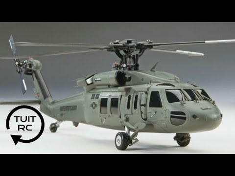 Heli Max UH-60 Blackhawk RC Heli Review and Flight