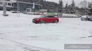 SNOW DRIFT   AUDI RS4 AND A7