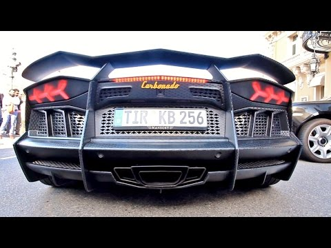 1,250HP Twin Turbo Mansory Carbonado Aventador LOUD Start Up and Driving!