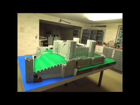 Watch Rhuddlan Castle rise before your eyes in this incredible time lapse video. The model was created entirely out of Lego pieces by Illinois-based Bob Carney. The model consists of 50000...