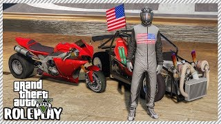 GTA 5 Roleplay - Drag Bike & 'Leroy' The Savage Drag Race Event | RedlineRP #306 LIVE