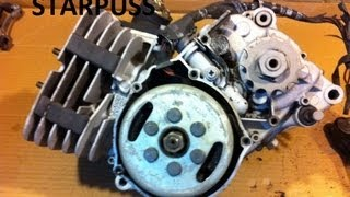 How To Remove a Flywheel on Most older Bikes & ATV