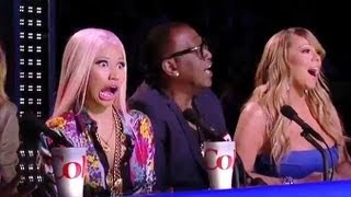 """AMERICAN IDOL"" TOP 10 BOYS SUDDEN DEATH: NICKI MINAJ WANTS CONTESTANTS BABY! 12x12- IDOL CAP"