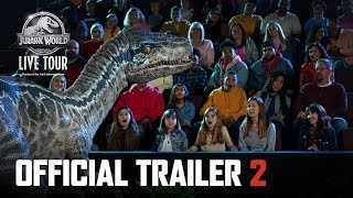 Jurassic World Live Tour Trailer 2 | Tour Starts September 2019