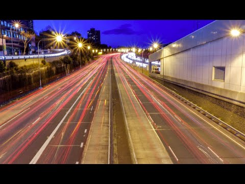 Light Trails: Learn how to get off auto mode