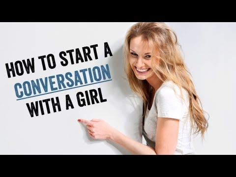 Internet dating how to start a conversation
