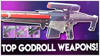 Destiny 2 INSANE 3 GODROLL FORGE WEAPONS - BLACK ARMORY FORGE GODROLL WEAPONS