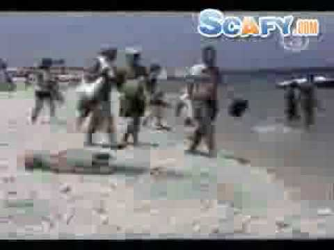 Funny commercials Crazy Beach accidents - Verry funny Scafy.com