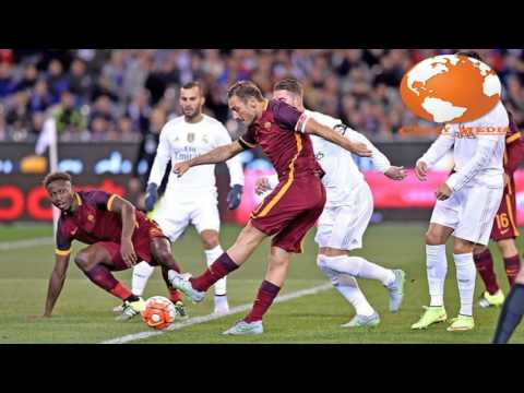 Real Madrid VS Roma  2016 Champions League