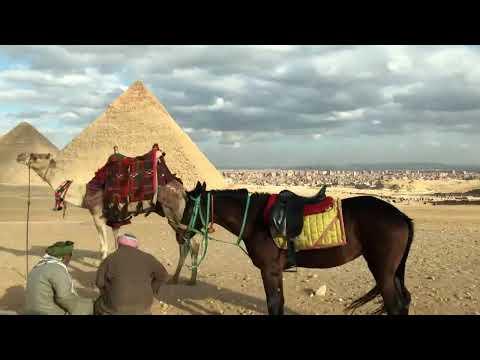 The Pyramids of Egypt - January 2020