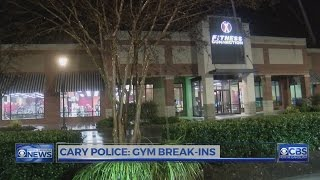 9 car break-ins at Cary gym parking lots in a month