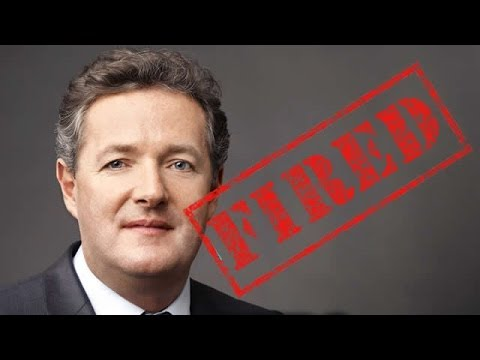 CNN Fires Piers Morgan for Anti-Gun Talk