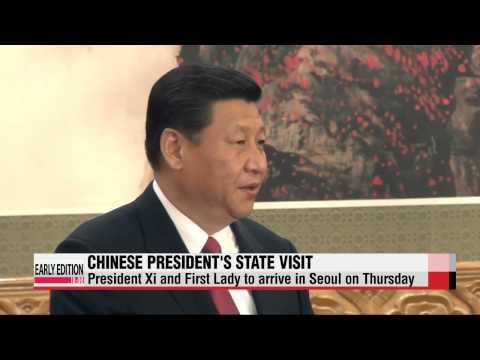 Chinese President Xi Jinping to make state visit to Seoul next week