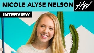 I Am Frankie, Nicole Alyse Nelson Obsessed With Show And Cast Alex Hook & Carson Rowland I Hollywire