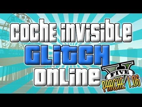 GTA V    GTA ONLINE    TRUCO GLITCH PARA TENER NUESTRO COCHE INVISIBLE    FUNNY GLITCHES GTA 5