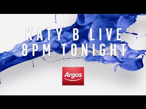 #argoslive With Katy B At 8pm video