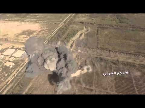 Civilian drone records U.S. Airstrike on ISIS Tank