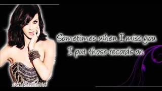 The One That Got Away - Katy Perry Lyrics