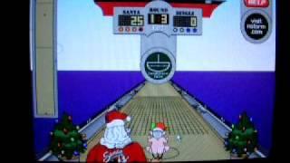 Elf Bowling 2 - Elf Shuffleboard