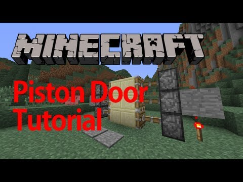 how to make a piston door with pressure plates