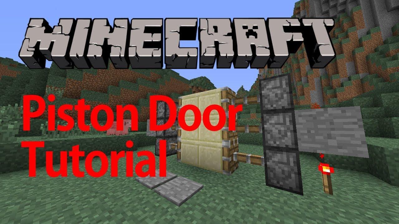 Piston Door 3x2 Piston Door 2x2 And 3x2