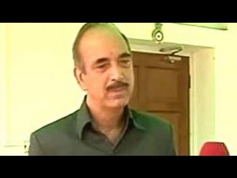 MPs quit for selfish reasons, not Telangana cause: Ghulam Nabi Azad to NDTV