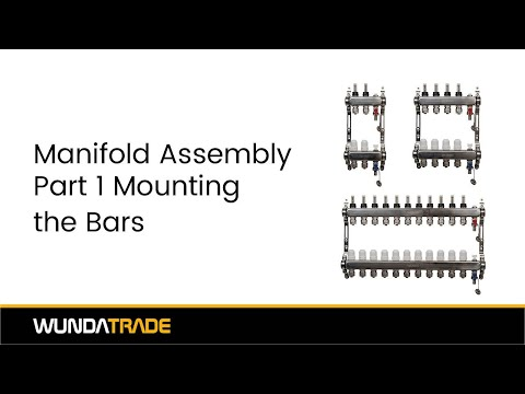 Manifold Assembly Part 1 - Mounting the bars