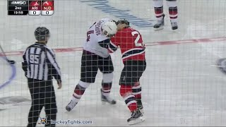 Kyle Chipchura vs Jordin Tootoo Oct 20, 2015