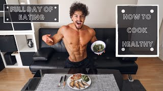 FULL DAY OF EATING | HOW TO COOK HEALTHY | Rowan Row