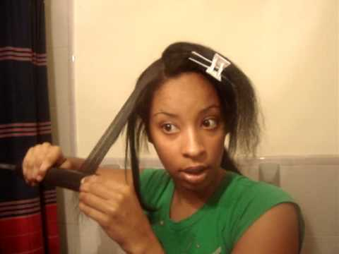 chi flat iron-HOW TO STRAIGHTEN HAIR WITH CHI-AFTER