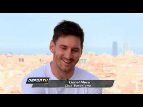 Video Messi entrevistado por Ines Sainz