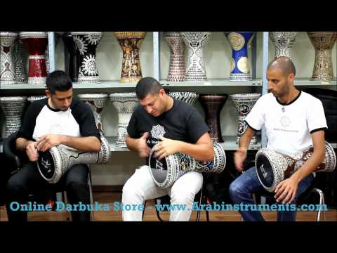 Doumbek Solo - Sombaty Darbuka - Belly Dance Music - Buy Darbuka video