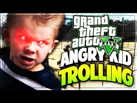 THIS KID ON GTA 5 WANTS TO FIGHT YOU! (Funny GTA V Moments)