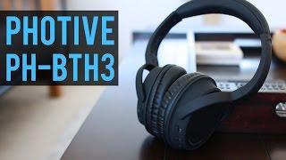 Photive PH-BTH3 Bluetooth Headphones Review