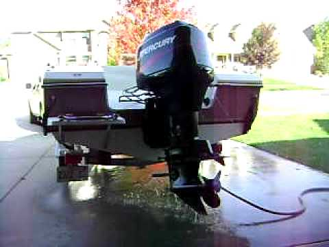 2001 90 HP Mercury Outboard Motor