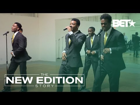 Cast of 'The New Edition Story' Perform for BET Execs | The New Edition Story