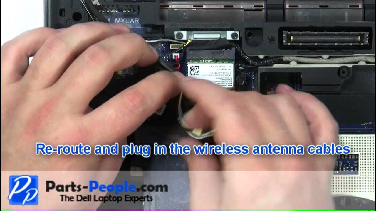 Dell Latitude E6420 CMOS Battery Replacement Video