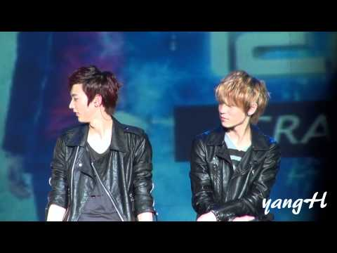 [Fancam] 120311 TALK(ChunJi&amp;L.Joe cut) @ TEEN TOP Crazy Fanmeeting