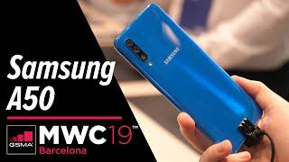 Samsung Galaxy A50: Rozpoutá bouři ve střední třídě - MWC 2019