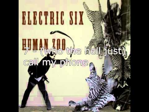 Electric Six - Human Zoo 2014 FULL ALBUM