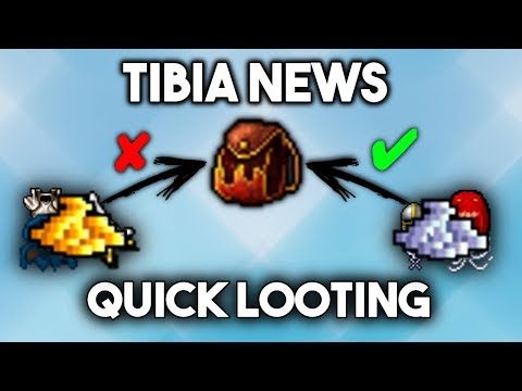 [PL] Tibia News | Quick Looting! (Winter Update 2017)
