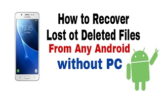 Photo video all delete file ko Recover wapas kaise laye📲